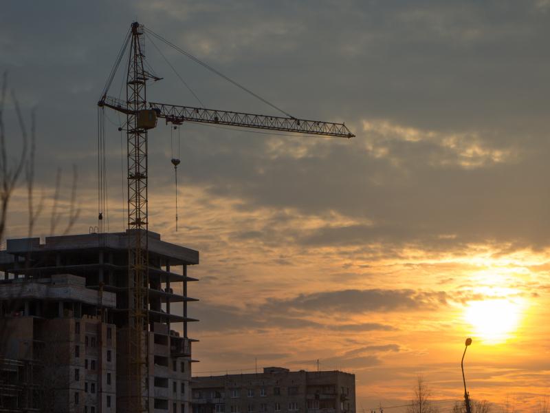 За10 месяцев вНовгородской области построили 36 многоквартирных домов
