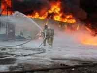 Пожар на «Волне»: открытое пламя  ликвидировали 40 минут назад