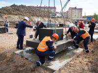 В Великом Новгороде началось строительство новой школы