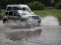 Сильные ливни вновь прогнозируют по Новгородской области