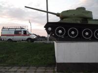 В Великом Новгороде горел мемориальный комплекс «Линия обороны» у Синего моста