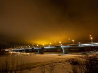В Великом Новгороде прокуратура добивается восстановления освещения Деревяницкого моста