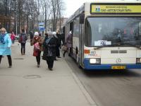 В Великом Новгороде автобусы выходят на линию неисправными