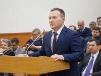 Мэр Великого Новгорода Сергей Бусурин приступил к исполнению своих обязанностей