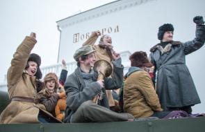 75-летие освобождения Новгорода