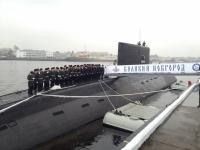 Субмарина «Великий Новгород» прибыла из Сирии в Севастополь