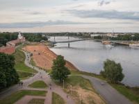 В субботу в Великом Новгороде перекроют Волхов