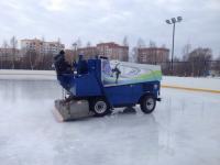 Ледовая площадка в Завокзальном будет действовать даже при плюсовых температурах